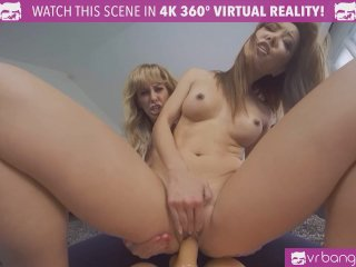 VRBangers Flawless Asian Virgin Rides a sex Doll for the first time Orgasm