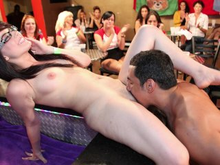 DANCING BEAR – Group Of Horny Women Taking Dick From Male Strippers