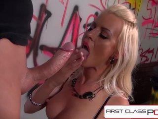 FirstClassPOV – Lyanna Nilsson sucking a monster cock, big boobs, big booty