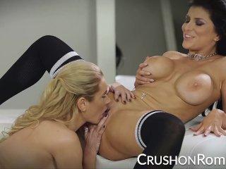 CrushGirls – Romi Rain and Briana Banks get naughty
