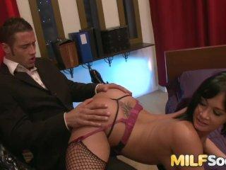 Hot MILF Tori Lane ass fucked hard