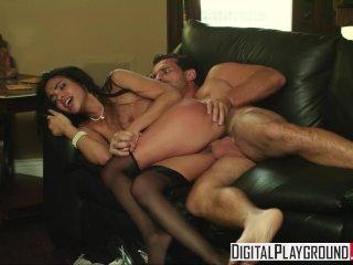 Digital Playground – Slutty Maid Selena Rose like it rough with Manuel Ferr