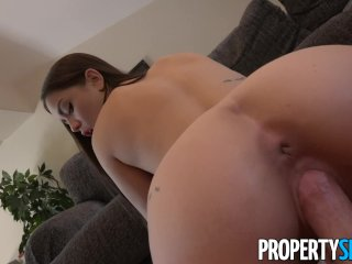 PropertySex – Young attractive real estate agent gives up the pussy
