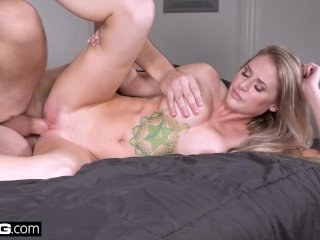 Real MILFs – Blonde MILF with big tits gets fucked pov style