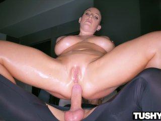 TUSHYRAW Angela White Cant Get Enough Anal Sex