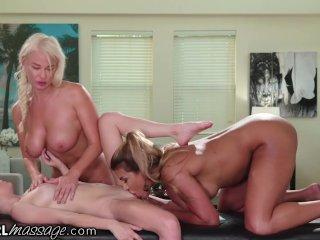 AllGirlMassage Teacher & Stepmom Help Teen Pass Massage School!