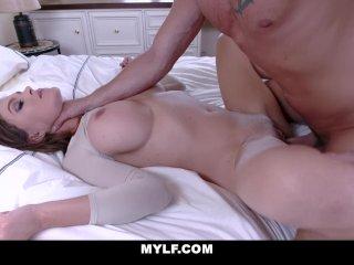 MYLF – Krissy Lynn Blows Her Stepson In The Car