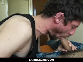 LatinLeche – Cute Punk Slurps Two Straight Cocks For Cash