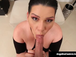 Thick Cuban Angelina Castro Pays Rent With Cock Sucking!