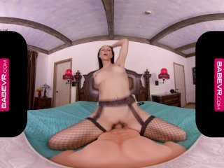 BaBeVRcom Big Titted French MILF Laly Vallade Welcomes You With A Pussy