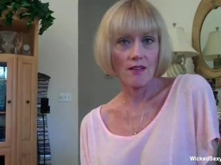 At Home With A Horny Granny