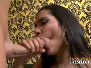 Beautiful sluts sucking cock POV