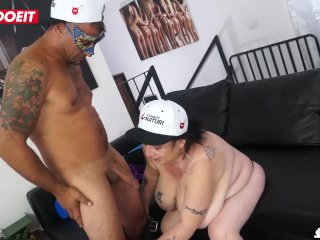 LETSDOEIT – Italian Mature BBW Loves Getting Fucked By Young Guys