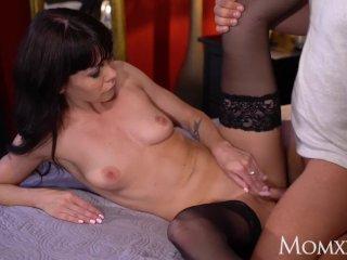 MOM Sultry Ukrainian MILF Sasha Colibri fucked in sexy stockings