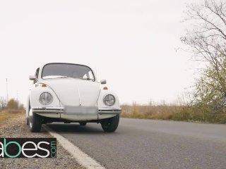Euro teen Jenifer Jane get more than her gass Fill Her Up – BABES