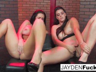 Black Leather Chair Lesbians