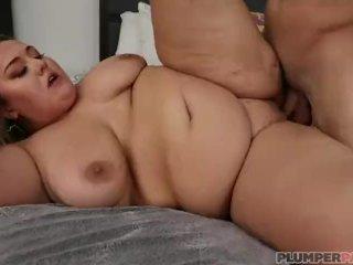 BBW Newbie Lisa Lee Rides JMac Massive Cock