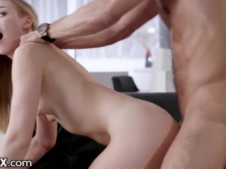 EroticaX Alexa Grace Likes Pussy But She Needs A Man's Dick Now!