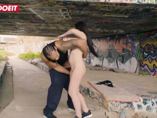LETSDOEIT – Petite Latina Brunette Pussy Stretched By a Massive Thick BBC