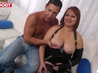 LETSDOEIT – Romanian Chubby Milf Ass Drilled By Italian Stud