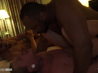 Ray Diesel dicks down two tatted twinks