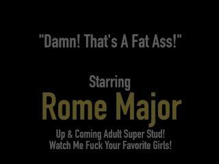 Black Bull Rome Major Stuffs Phat Ass Cherise Rozy With BBC!