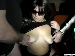 The Swinger Experience Presents Adult Theater Gangbangs with Slutwife Marion