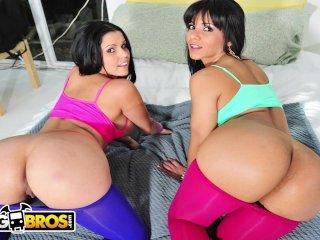 BANGBROS – Latin Babes Diamond Kitty and Rose Monroe Get Fucked