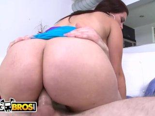 BANGBROS – Carmen Ross Gets Her Latin Big Ass Fucked By Brick Danger