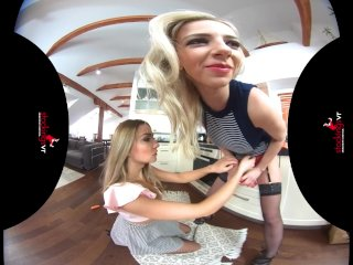 StockingsVR – Gag me with that Cucumber