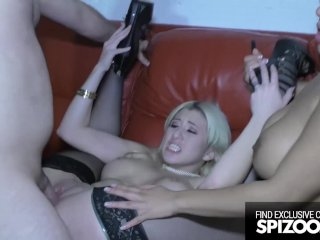 Hardcore threesome interracial (Priya Price, Cristi Ann) – Spizoo