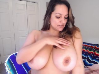 MONICA MENDEZ WANTS YOUR ATTENTION TO FANTASIZE HER BIG JUICY MELONS