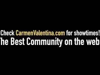Hot Wife Rio Lesbian Loves VNA Girl Carmen Valentina!