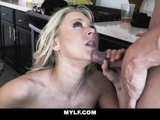 MYLF – Katie Morgan Gets Dicked Down By Her Man's Friend
