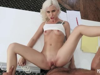 Petite Pussy Of All Natural Teen Kiara Cole Gets Fucked Hard By Her Client