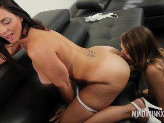 Busty MILF Mindi Mink play time with Jillian Janson