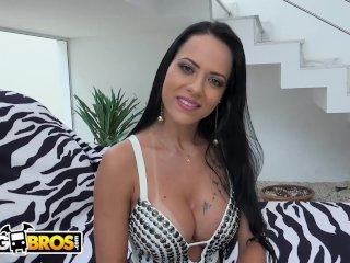 Bangbros - Two Dicks Twice The Pleasure For Brazilian Babe Analine