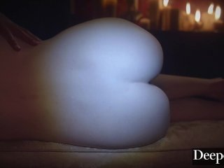 Deeper Evelyn Claire Loves Nothing More Than Waxplay & Kinky Sex