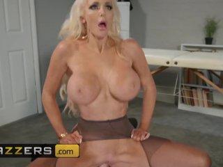 Big tit phat ass blonde boss Nicolette Shea needs some stress – Brazzers