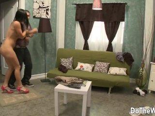 PAWG Wife Ashli Orion Makes Cuckold Husband Watch Her Fuck Like a Wild Slut