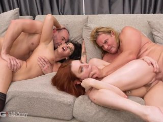 Trickery – Bored Wifes Sheena Ryder and Lacy Lennon Swap Husbands