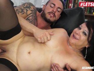 LETSDOEIT – Chubby Italian Milf Fucked Hard In Her First Porn Video