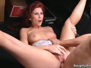 Naughty America Latina Brooklyn Lee anal fucking in the truck