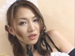 Yuki Touma is one dirty maid in need for cock – More at hotajp com