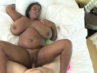 Huge Ebony Boobs on this BBW that I got to fuck