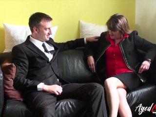 AgedLove Businessman's big dick and Pandora