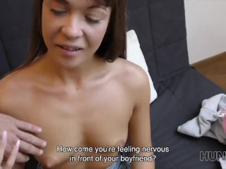 HUNT4K. Angella Christin has sex for money to pay for a night