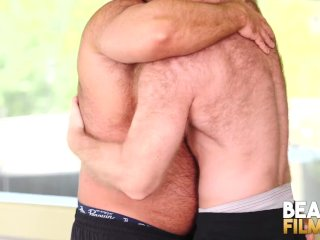 BEARFILMS Burly Bear Brad Kalvo Fucks Ginger Hunk Bareback