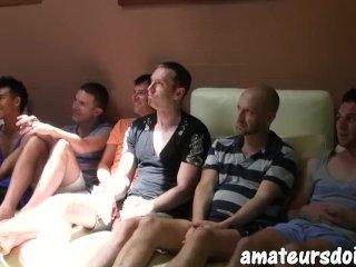 AmateursDoIt – Hot Australian studs swap head before group sex orgy