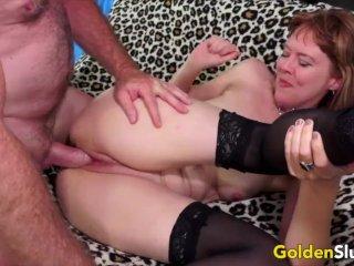 Golden Slut – Sensational British Granny Jamie Foster Compilation Part 1
